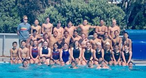 Texas Youth Train in CA with Olympians Azevedo, Craig