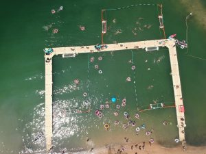Drone Footage, Athlete Interviews from Zilla Beach Tourney