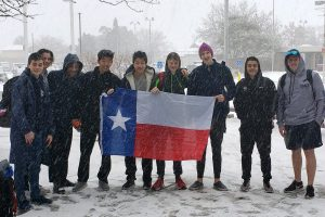 ODP in the snow, daring to dream, TXWaterpolo has plans
